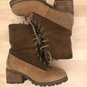 Suede lined Jeffrey Campbell Boots